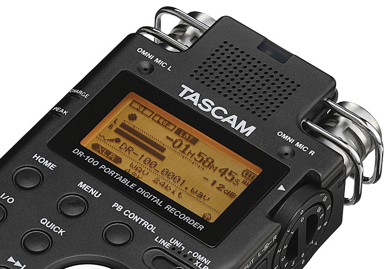 Tascam DR−100MKII: High-End-Recorder in Neuauflage