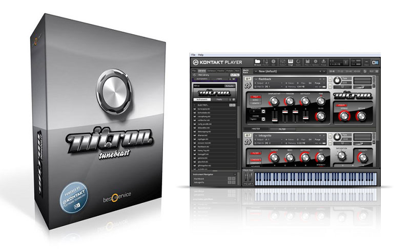 NITRON: Samplebasierter Software-Synth von Best Service