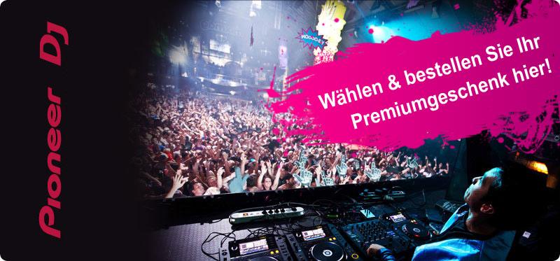 Sei bereit für den Sommer! Pioneer DJ Sales Geschenkaktion 2012