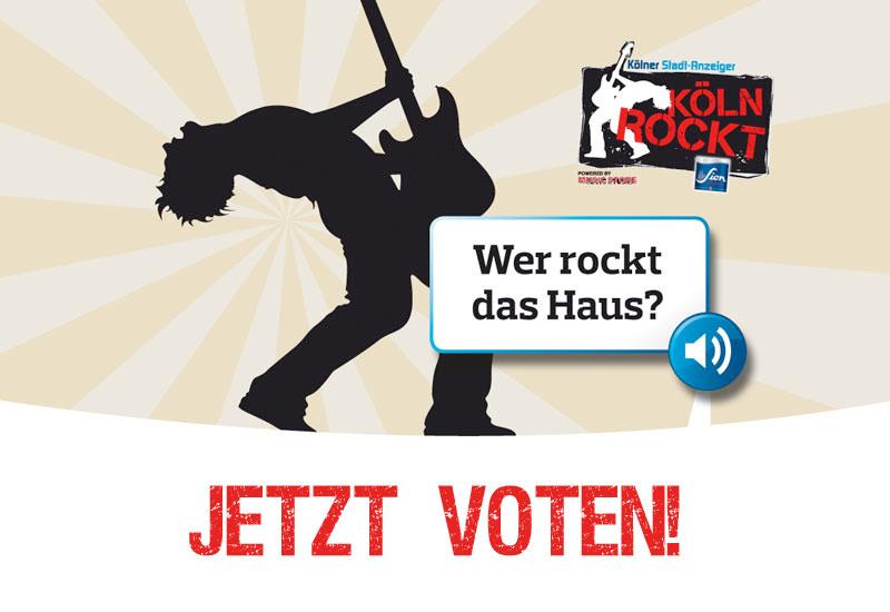 KÖLN ROCKT – Jetzt voten!
