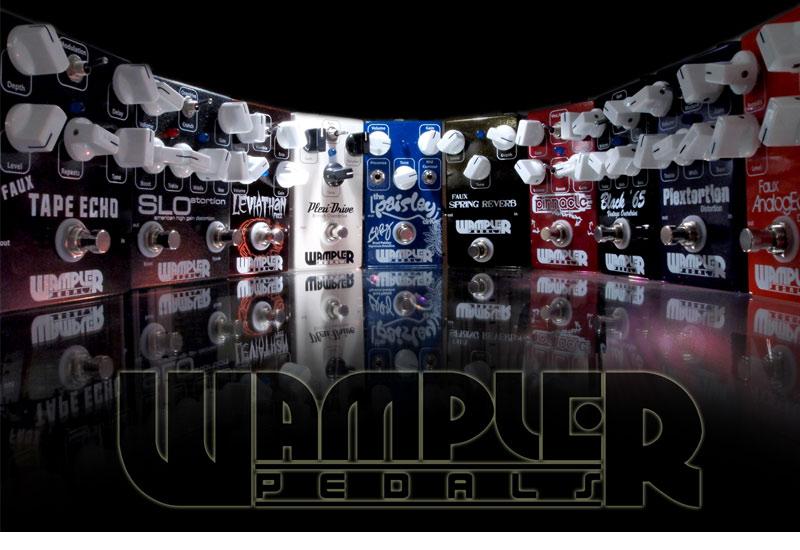 Neue Produktlinie: Wampler Pedals