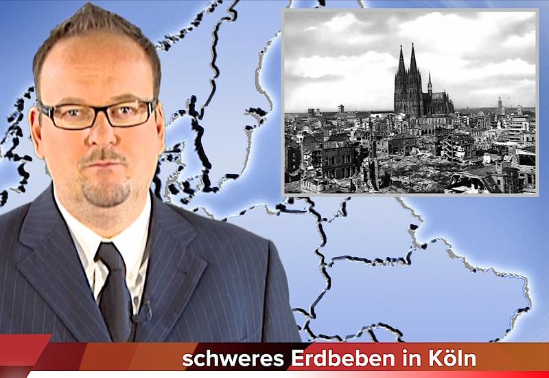 Schweres Erdbeben in Köln !!!