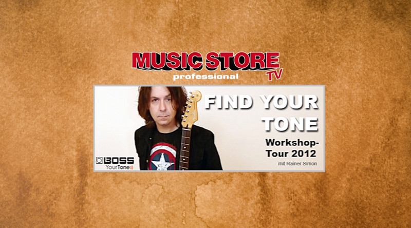 Roland & Boss – Find Your Tone – Workshop im Music Store