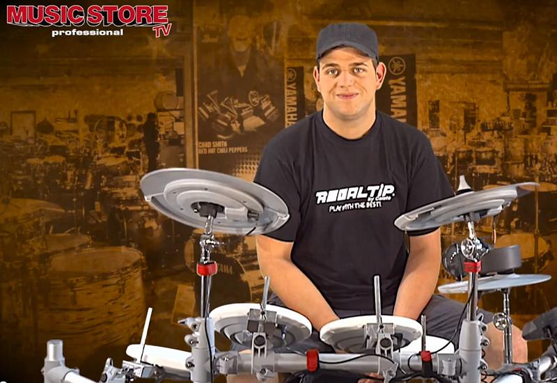 Lukas testet das FAME DD-6000 E-Drum-Set