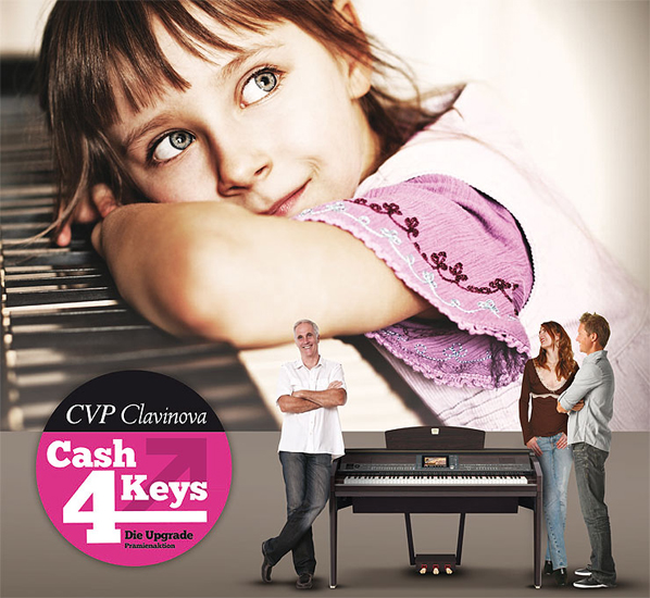 "Yamaha Clavinova CVP ""Cash for Keys"" Aktion bis November verlängert!"