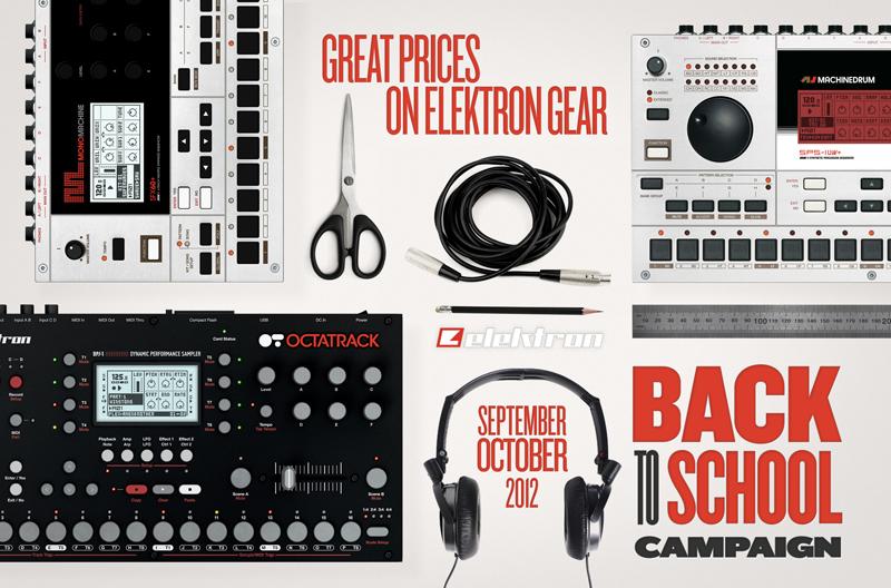 Satte Rabatte auf alle Elektron Produkte ab 01.09.2012