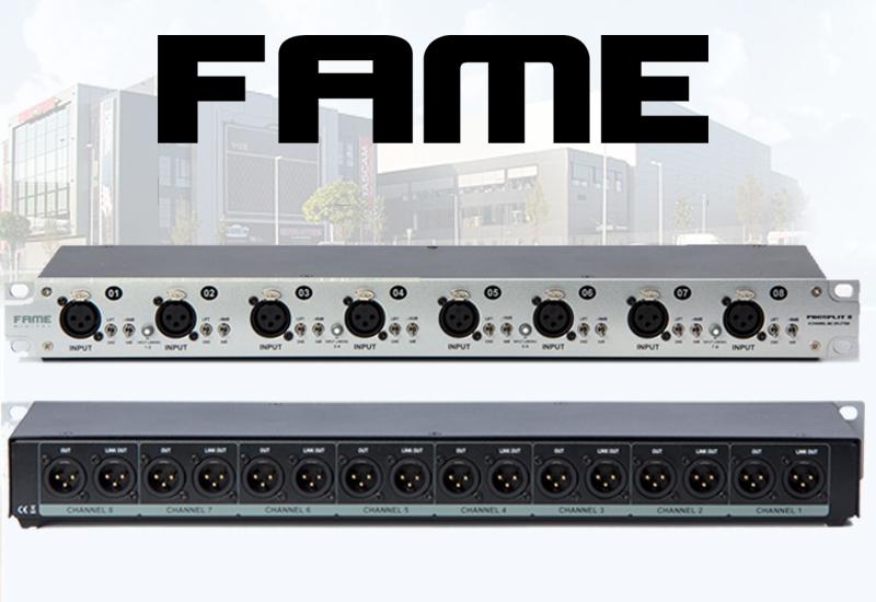 Fame ProSplit 8 Mikrofonsplitter
