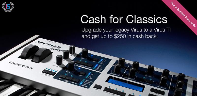 Cash Back Offer bei ACCESS MUSIC