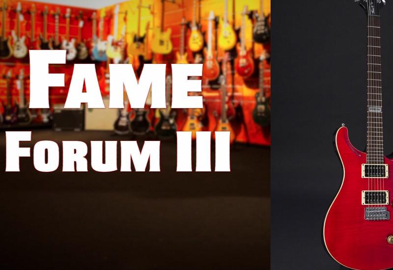 FAME Forum III: Edelgitarren aus feinster Handarbeit
