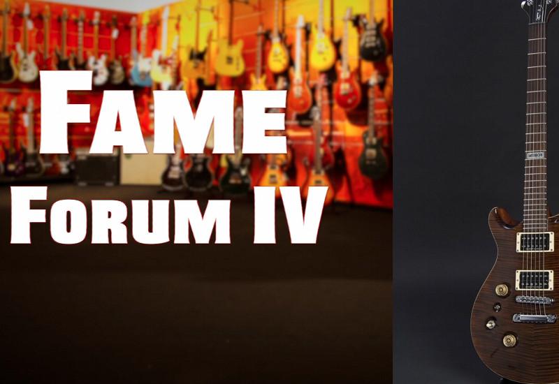 Forum IV: Die Top-Line der Edelgitarren von FAME