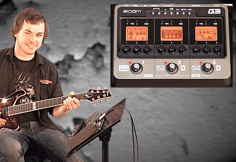 Zoom G3 Gitarren Multieffekt im Profi-Test
