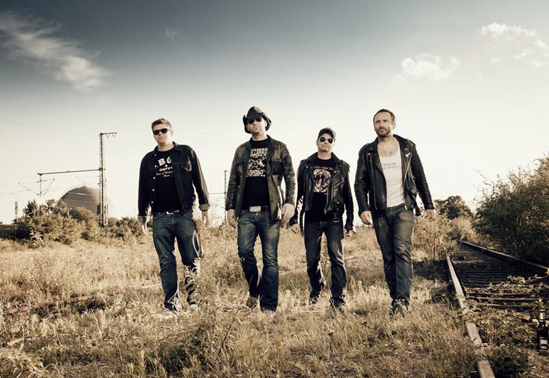 Punkrock-Band BLACK SHERIFF besucht den MUSIC STORE