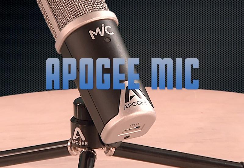 Apogee Mic – Ein Profi Mikrofon für Apple iPhone und iPad