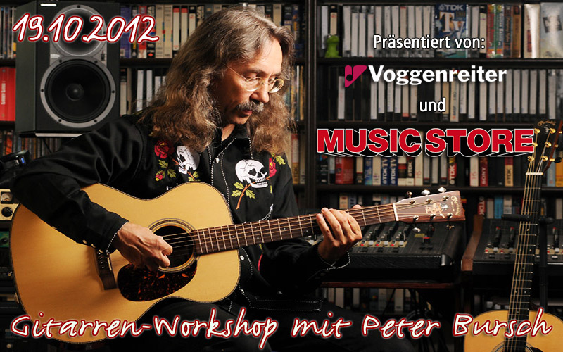 Peter Bursch – der Gitarrenlehrer der Nation