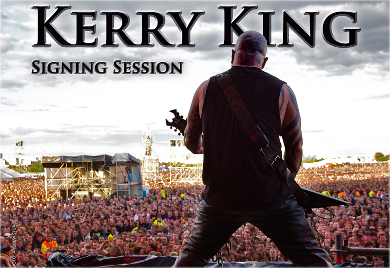 Kerry King Signing Sessions