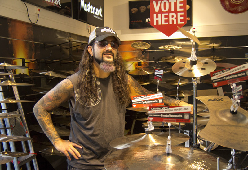 Mike Portnoy [Dream Theater] zu Gast im MUSIC STORE