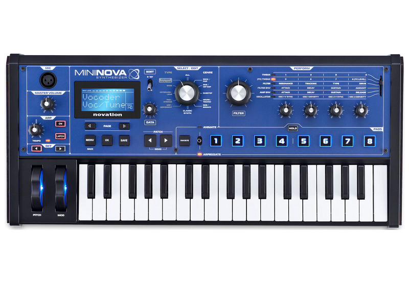 Novation Mininova Synthesizer Demo im Music Store