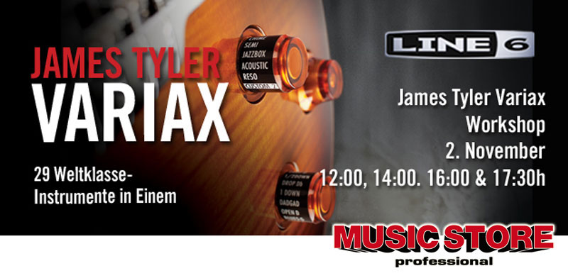 Line 6 – James Tyler Variax Workshop