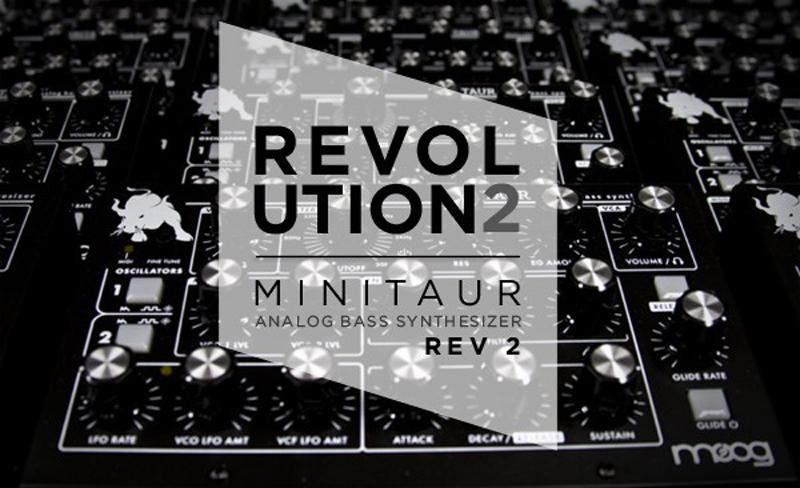 """Freies Update """"Revolution 2"""" für alle Moog Minitaur Besitzer jetzt verfügbar!"""