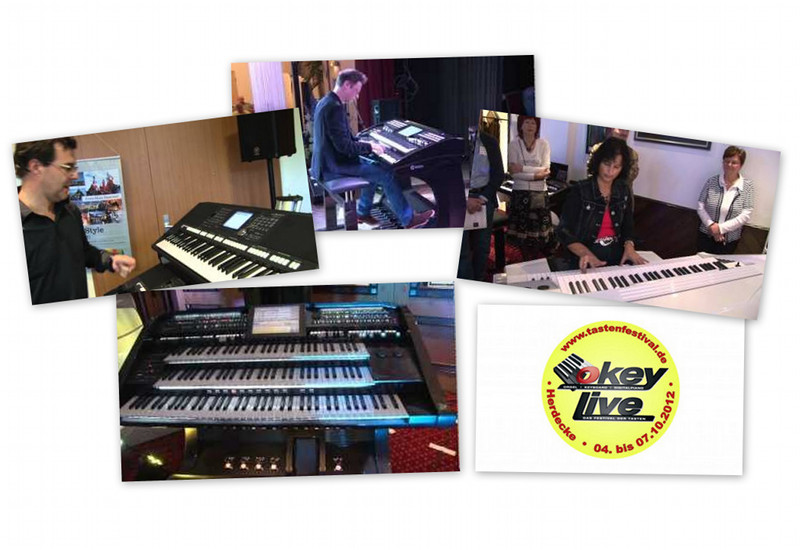 OKEY LIVE – Highlights vom Tastenfestival 2012