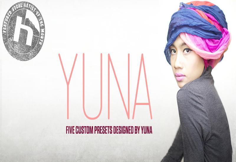 gratis Artist Presets von Yuna für TC Helicon Voice Live Serie / Gewinnspiel