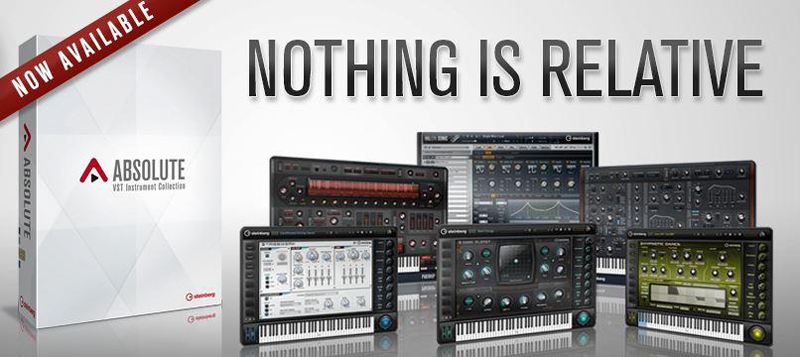 Steinberg stellt die neue Absolute VST Instrument Collection vor