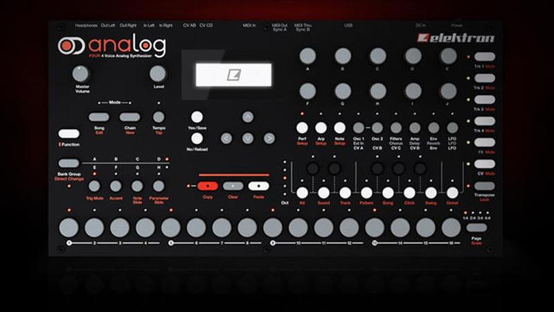 Elektron präsentiert den neuen Synthesizer Analog Four