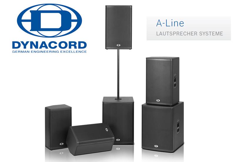 Dynacord A-Line – Neue Lautsprecher Serie