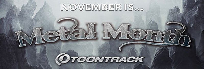 Attraktive Metal-Bundles von Toontrack im Metal Month November