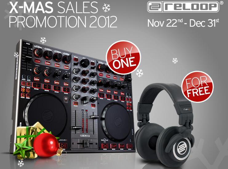 Reloop X-Mas Sales Promotion 2012