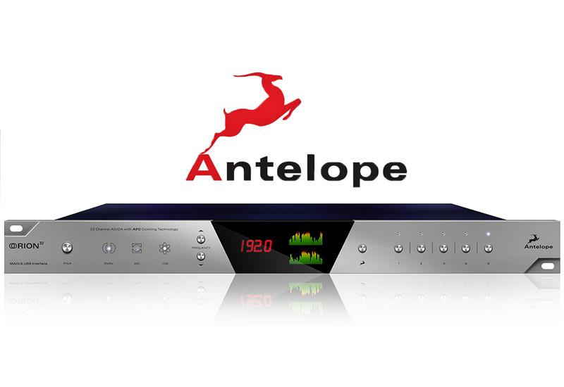 Antelope Orion – 32 Kanal AD/DA Wandler