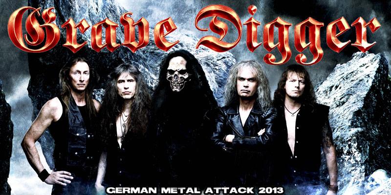 Grave Digger Tour 2013