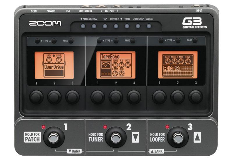 Zoom Amp- und Effekt-Modeler