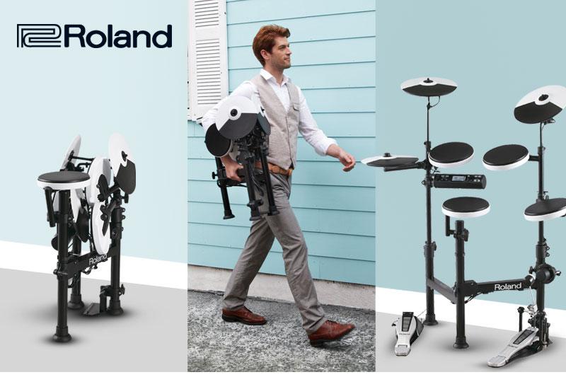 Mobiles V-Drum-Set von ROLAND