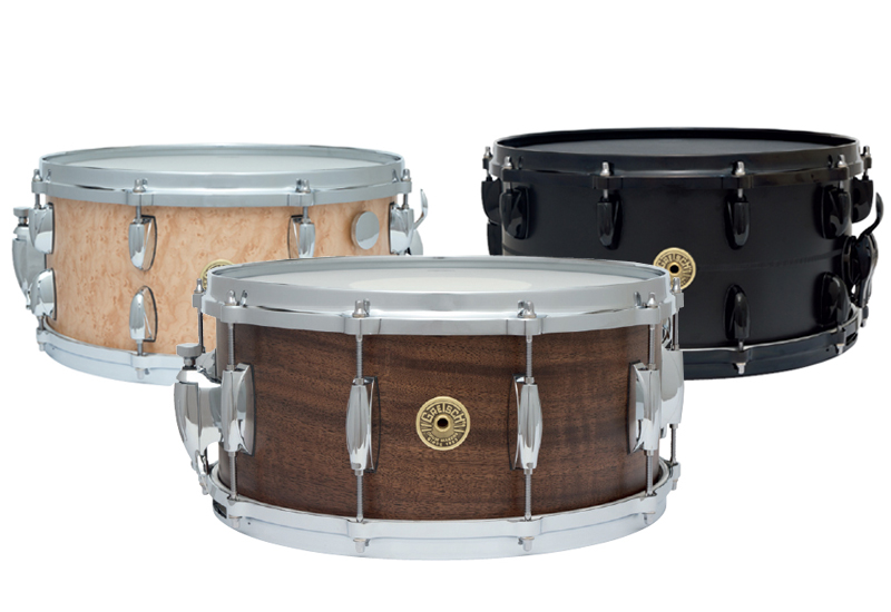 NAMM SHOW 2013 – GRETSCH 130th Anniversary Snare Drums