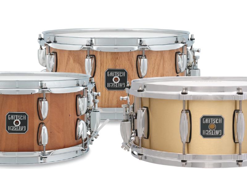 NAMM SHOW 2013 – drei neue Snares von GRETSCH