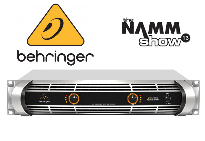 NAMM 2013 – Behringer iNUKE 12000