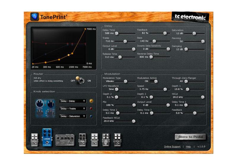 NAMM 2013 – TC ELECTRONIC kostenloser TonePrint Editor