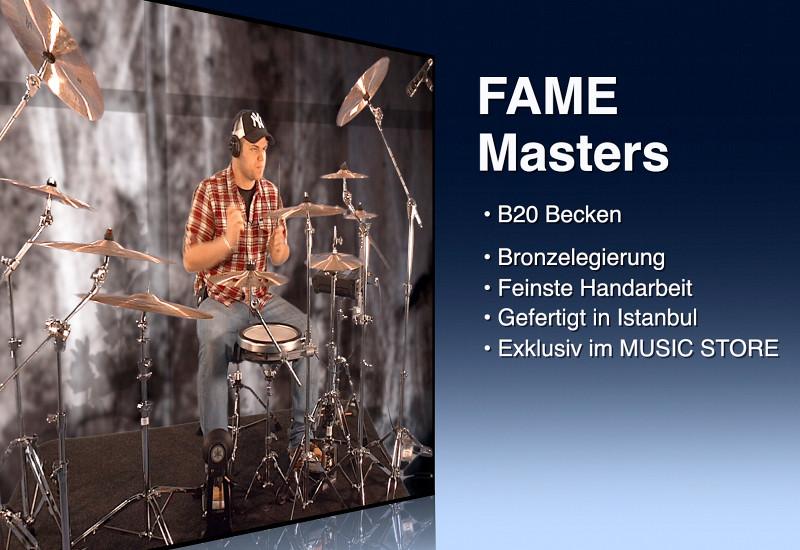 FAME Masters B20 Becken Neuheiten