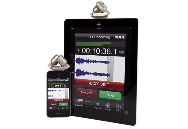 NAMM Show 2013 – Røde iXY: Hochwertiges Aufsteckmikrofon für iOS Geräte