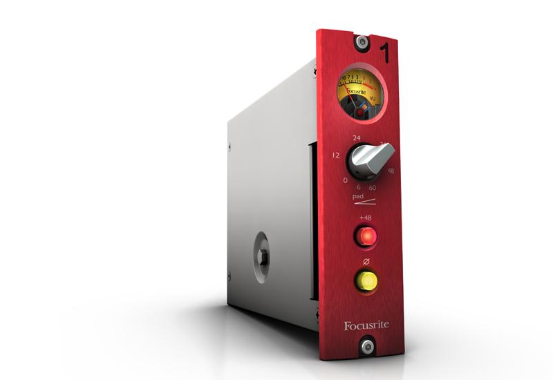 NAMM Show 2013 – Focusrite Red 1 500: Ein Klassiker im neuen Gewand