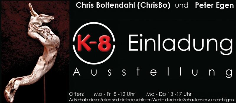 Ausstellung Chris Boltendahl & Peter Egen