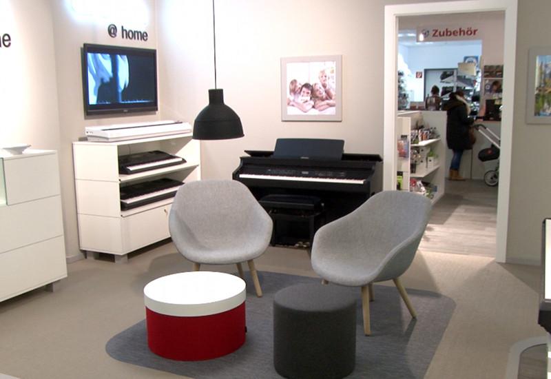 Der neue CASIO @ Home Shop im MUSIC STORE