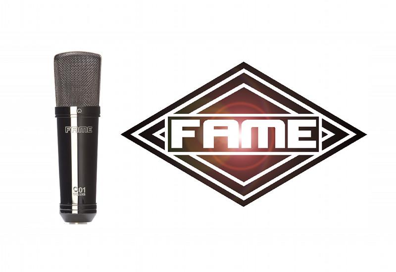 FAME Studiomikrofone C01 und C02 in Deluxe-Versionen