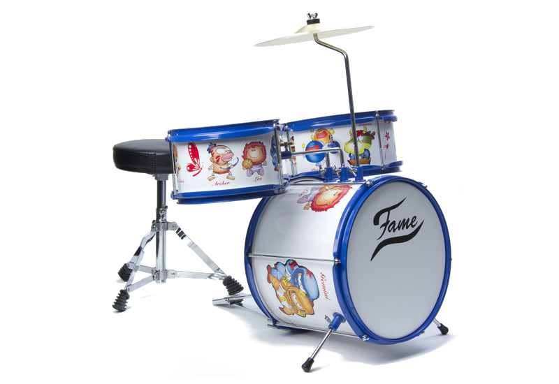 Richtig coole Kids spielen Schlagzeug!