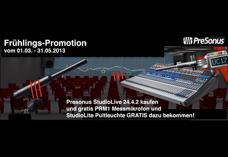 Presonus Frühlings Promotion