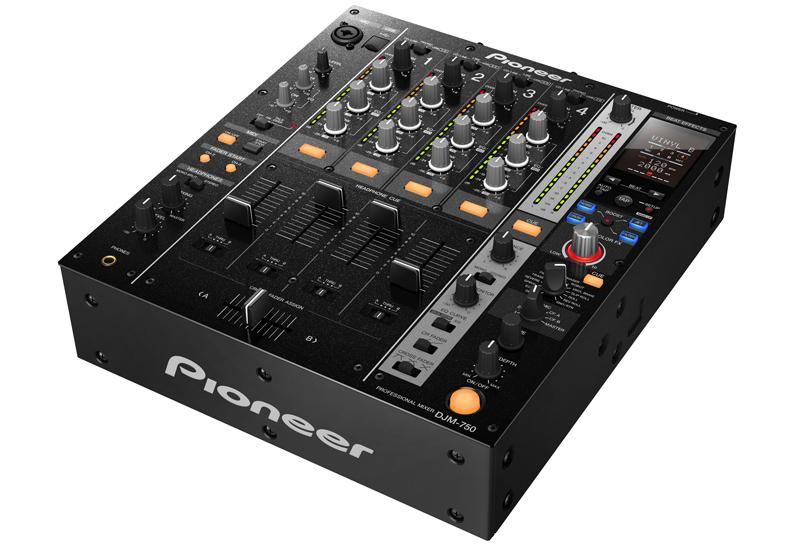 Musikmesse 2013 – PIONEER präsentiert den 4-Kanal-Mixer DJM-750