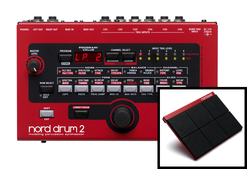 CLAVIA NORD Drum 2 – Drumsynthesizer