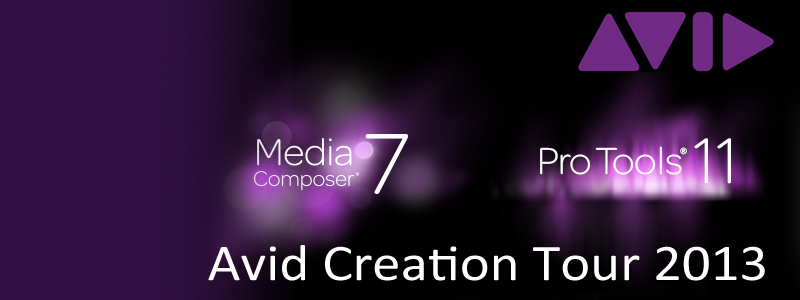 Avid Creation Tour 2013