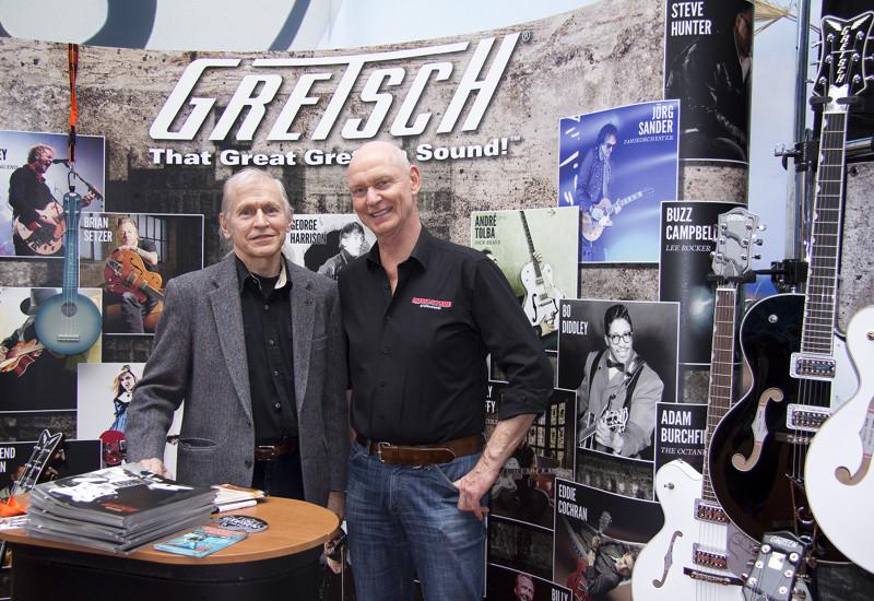 Fred Gretsch erzählt die Geschichte seines Unternehmens